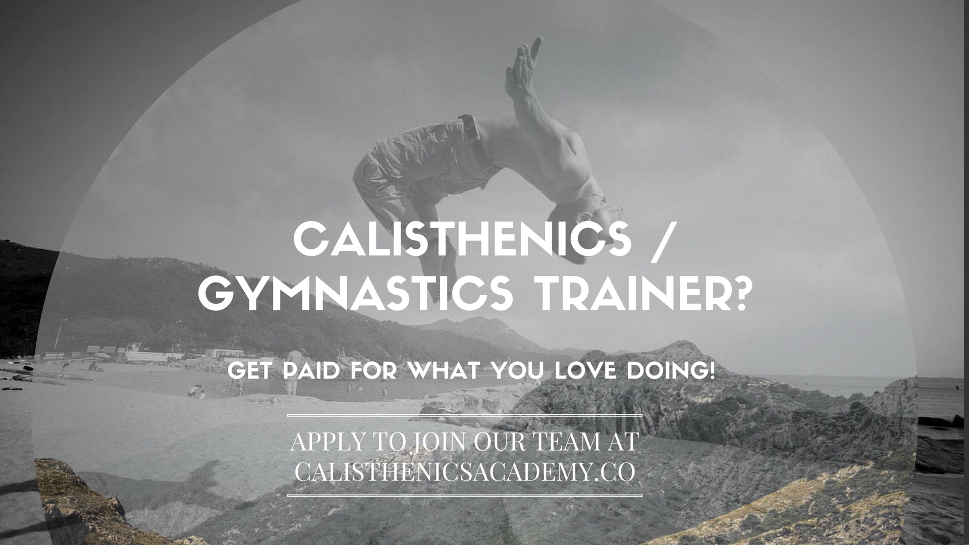 We Are Very Excited To Announce That Growing And Officially Looking For A Rock Star Trainer Join Our Online Calisthenics Academy Team