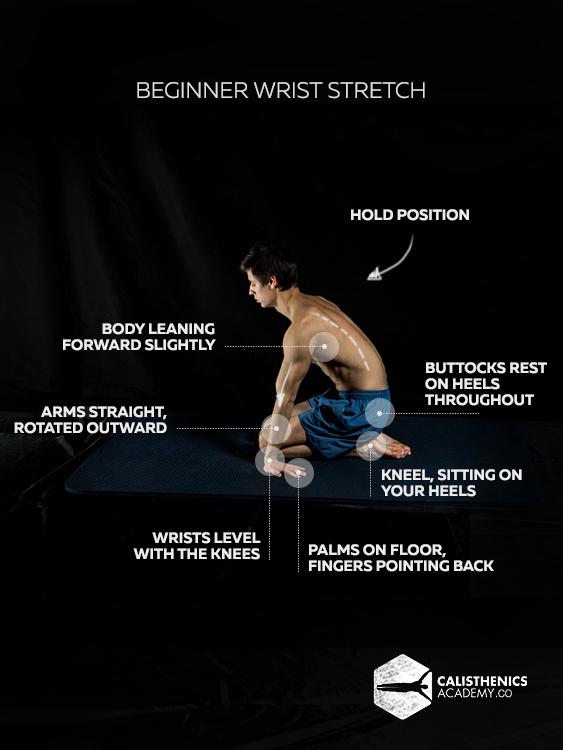 Beginner Wrist Stretch 4a