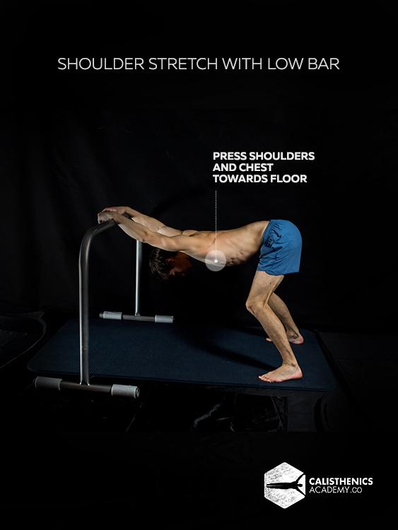Shoulder Stretch with Low Bar 5b
